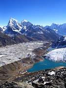 Mt Everest Base Camp Prints - Himalaya Views Print by Tim Hester
