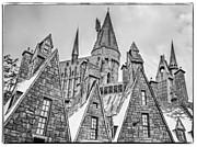 Postcard From Hogsmeade Print by Edward Fielding