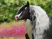 Gypsy Vanner Digital Art - Hold On To Me by Kate Black