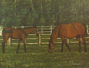Stable Painting Originals - Home sweet home by Gilles Delage