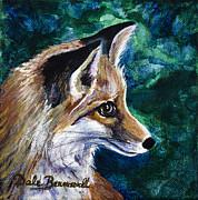 Hopeful Fox Print by Dale Bernard