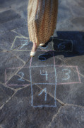 Game Photo Posters - Hopscotch Poster by Joana Kruse