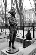 Horatio Nelson Greenwich London Print by Mark Monckton