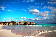 Green Bay Prints - Horseshoe Bay in Bermuda Print by Charline Xia