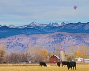 James Bo Insogna - Hot Air Balloon Rocky Mountain County View