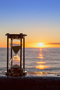Copy Prints - Hourglass Sunrise Print by Colin and Linda McKie