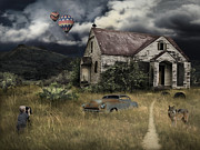 Skagit Digital Art - House in a secluded by Eleonora Krstulovic
