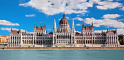 Building Art - Hungarian parliament in Budapest by Michal Bednarek
