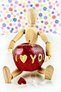 Woodman Prints - I Love You Print by Gynt