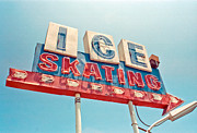 Sign Photos - Ice Skating by Matthew Bamberg