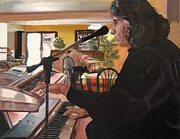 Pianos Paintings - Ignacio El Musico by Debra Chmelina