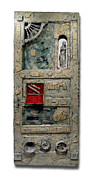 Old Door Mixed Media - Imagine by Christopher Schranck