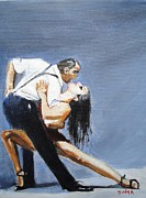 Romance Painting Originals - Impassioned by Judy Kay