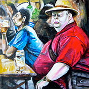Munich Originals - In A Munich Beer Garden by Charlotte   Wehning