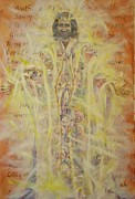 Heavenly Body Mixed Media Prints - In Him Print by Nancy Raborn