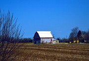 Rural Indiana Prints - In The Heartland Print by Alys Caviness-Gober