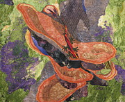 Amphibians Tapestries - Textiles - In the Rain Forest by Lynda K Boardman