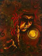 Native American Art - Inner Circle by Alicia Hayes