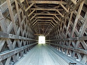 Catherine Gagne - Inside A Covered Bridge