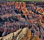 Inspiration Point Prints - Inspiration Point Hoodoos Print by Stephen  Vecchiotti