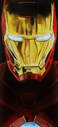 Comic. Marvel Framed Prints - Iron Man Framed Print by Brian Broadway