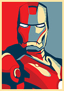 Iron Man Print by Caio Caldas