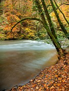 Colors Of Autumn Prints - Irrel Falls Print by Maciej Markiewicz