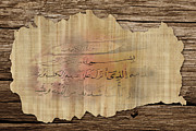 Ayat Paintings - Islamic Calligraphy 038 by Catf