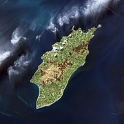Science Photo Library - Isle of Man, satellite...