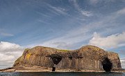 Grey Clouds Photo Originals - Isle of Staffa by Sergey Simanovsky