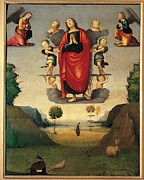 St Mary Magdalene Framed Prints - Italy, Emilia Romagna, Ferrara Framed Print by Everett
