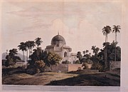 Palace Tomb Prints - Italy, Lombardy, Milan, Braidense Print by Everett