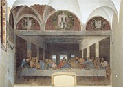 Last Supper Photo Posters - Italy, Lombardy, Milan, Credito Poster by Everett