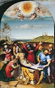 Christ Child Framed Prints - Italy, Marche, Ancona, Jesi, Municipal Framed Print by Everett