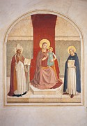Enthroned Prints - Italy, Tuscany, Florence, San Marco Print by Everett