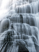 Ithaca Digital Art Posters - Ithaca Water Falls New York Panoramic Photography Poster by Paul Ge
