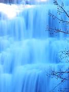 Ithaca Water Falls New York  Print by Paul Ge