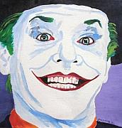 Jack Nicholson Painting Originals - Jack by Jeremy Moore