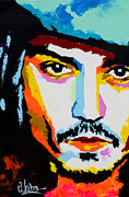Jack Sparrow Paintings - Jack Sparrow by Edgar Rafael