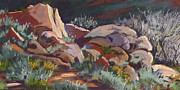 Zion National Park Pastels - January Rocks by Patricia Rose Ford