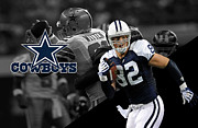 Witten Prints - Jason Witten Cowboys Print by Joe Hamilton