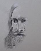 Jesus Print by Kathy Weidner