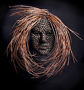 Face Reliefs - Jeweled by Adam Long