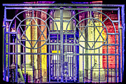 Synagogue Photo Originals - Jewish gates by Chris Smith