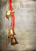 Western Digital Art Posters - Jingle Bells Poster by Cindy Singleton