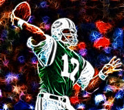 Hall Of Famer Prints - Joe Namath Print by Paul Ward