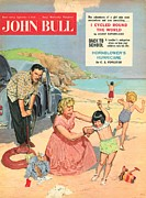 Tires Drawings Posters - John Bull 1950s Uk Holidays Expressions Poster by The Advertising Archives