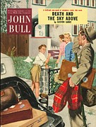 Parents Drawings Prints - John Bull 1953 1950s Uk Holidays Print by The Advertising Archives