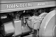 Machinery Framed Prints - John Deere Diesel Framed Print by Susan Candelario