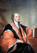 Chief Justice Framed Prints - John Jay -- 1 Framed Print by Cora Wandel